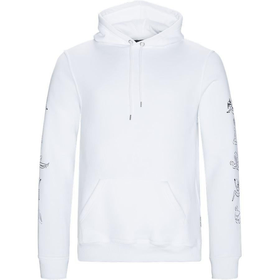 HEFNER - Hefner - Sweatshirts - Regular - WHITE - 1