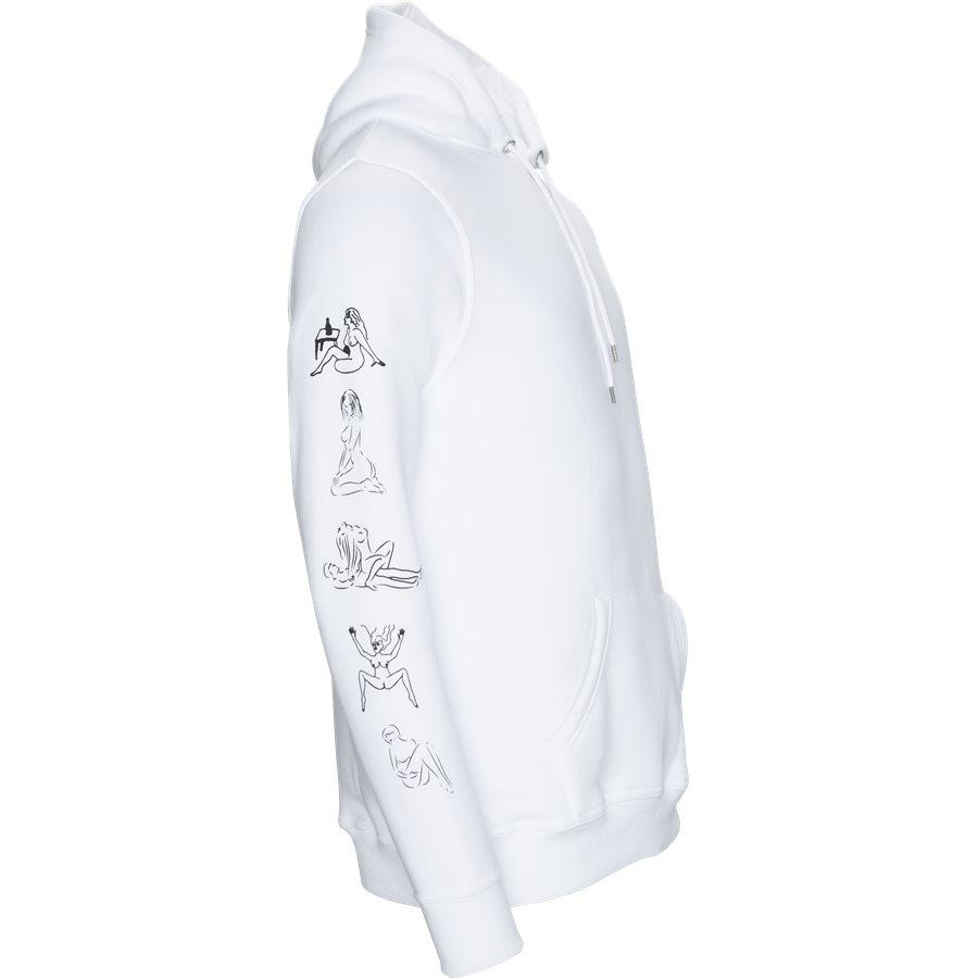 HEFNER - Hefner - Sweatshirts - Regular - WHITE - 4