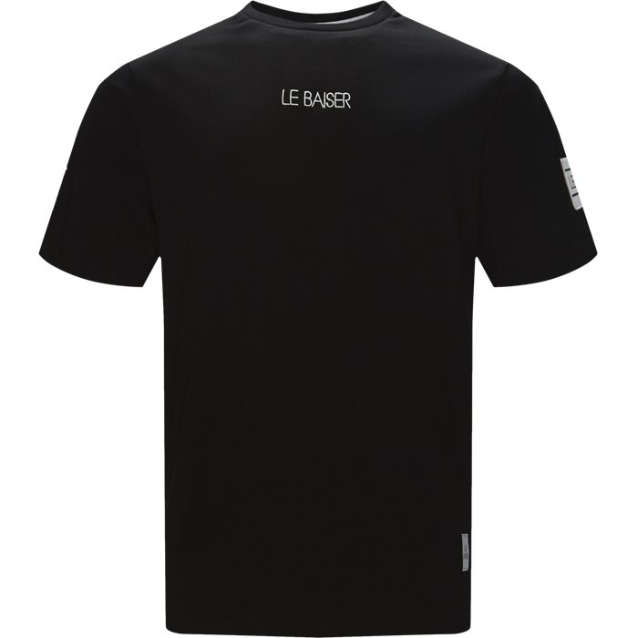 Notre - T-shirts - Regular - Sort