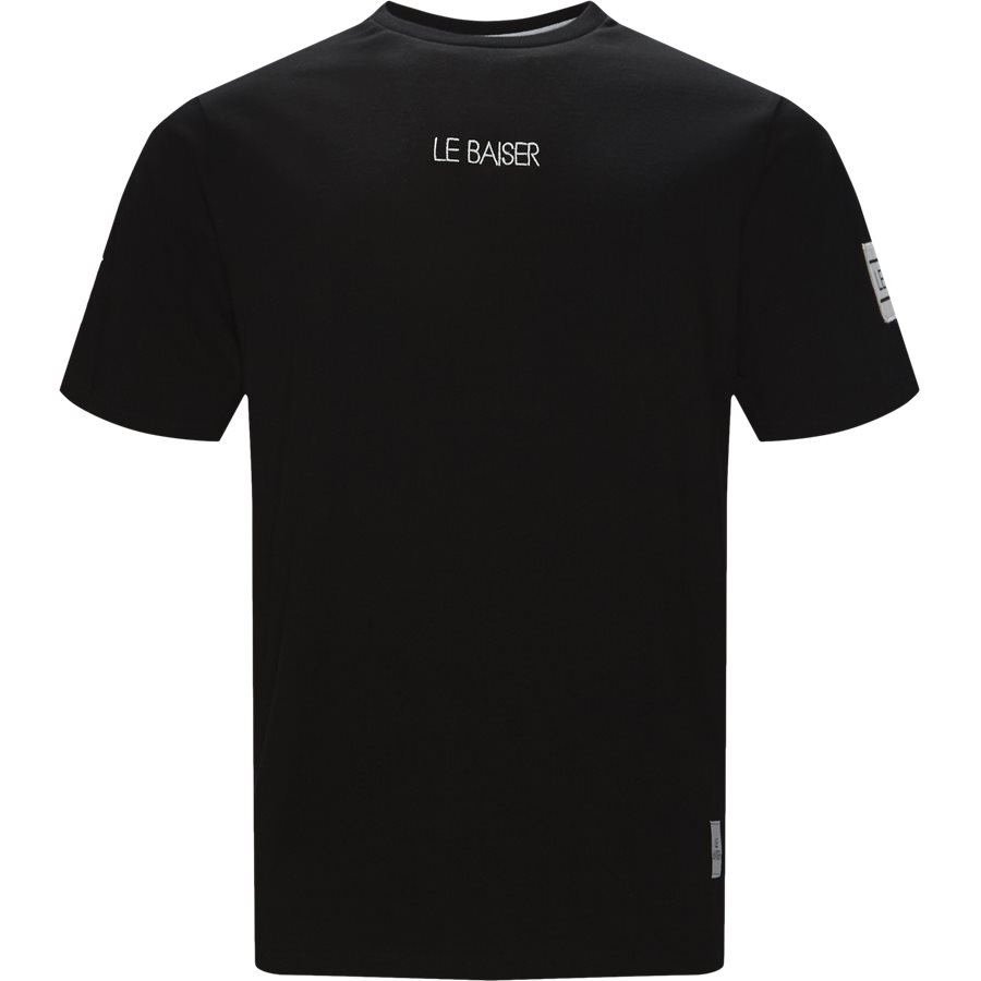 NOTRE - Notre - T-shirts - Regular - BLACK - 1