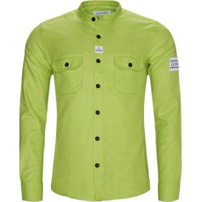 Pencil Shirt Regular | Pencil Shirt | Grøn