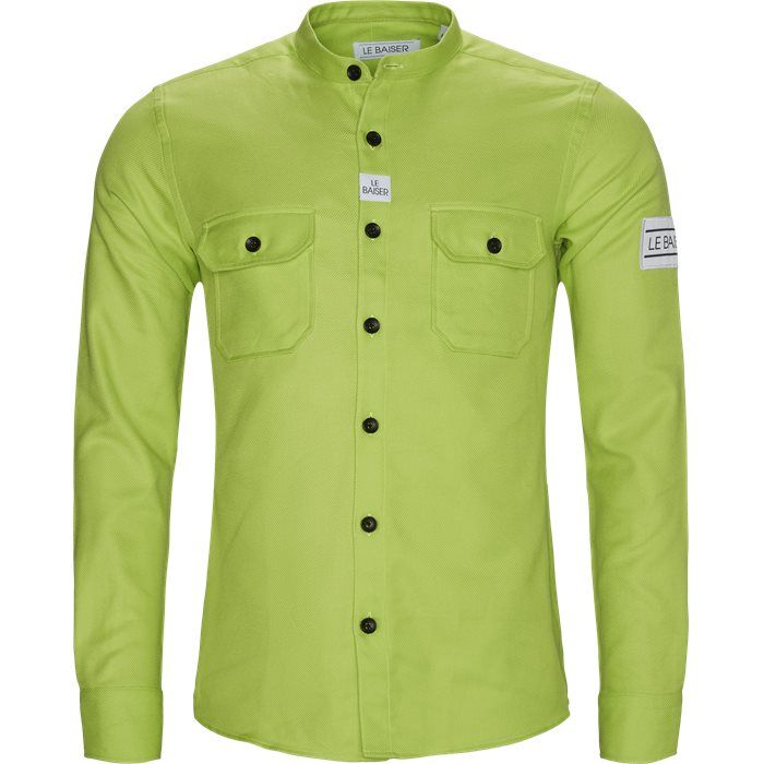 Pencil Shirt - Skjorter - Regular - Grøn