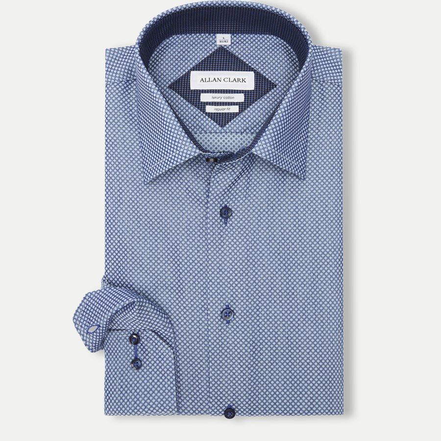 FABREGAS - Fabregas Skjorte - Skjorter - BLUE - 1