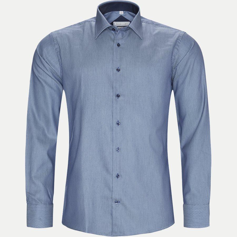 FABREGAS - Fabregas Skjorte - Skjorter - BLUE - 5