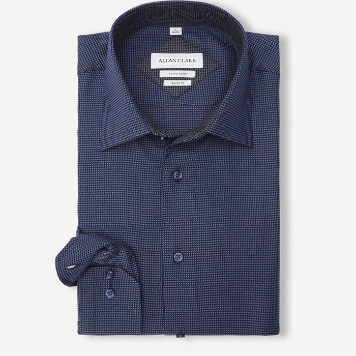 Abalo Skjorte - Skjorter - Blå