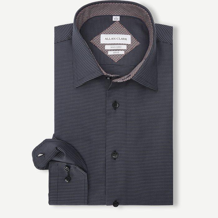 Abalo Skjorte - Skjorter - Grå