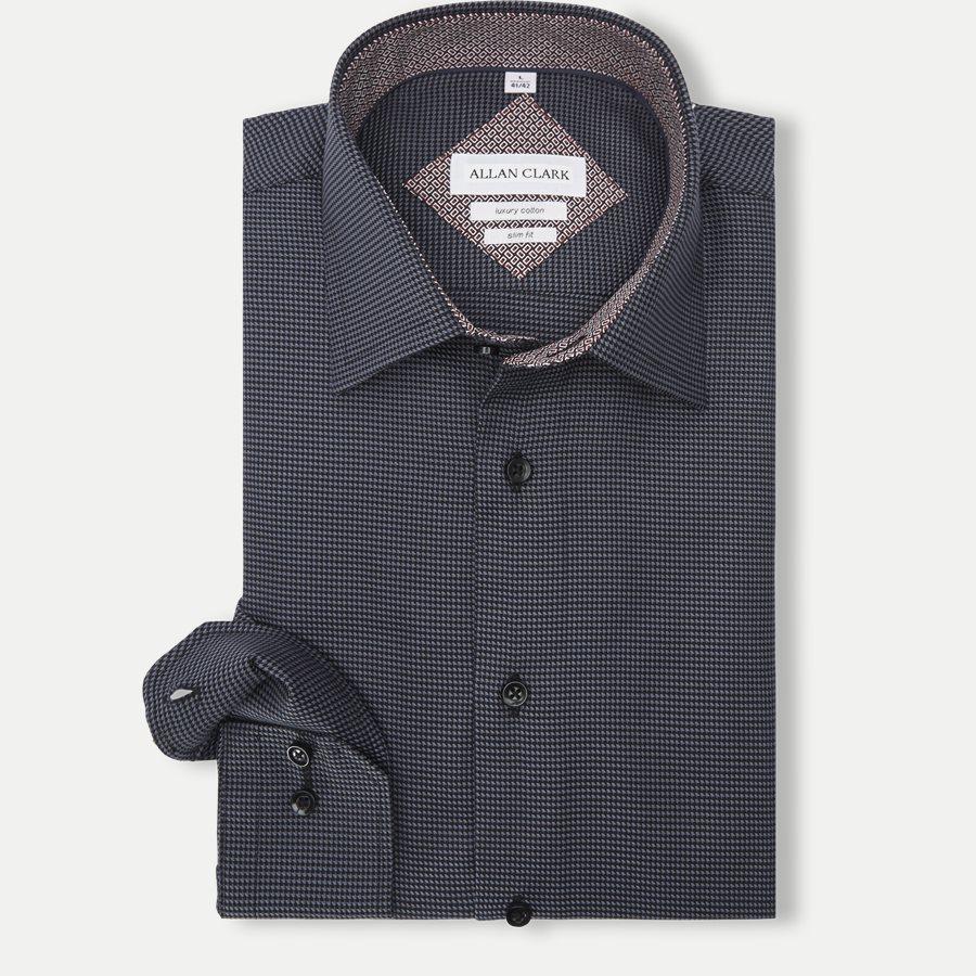 ABALO - Abalo Skjorte - Skjorter - GREY - 1