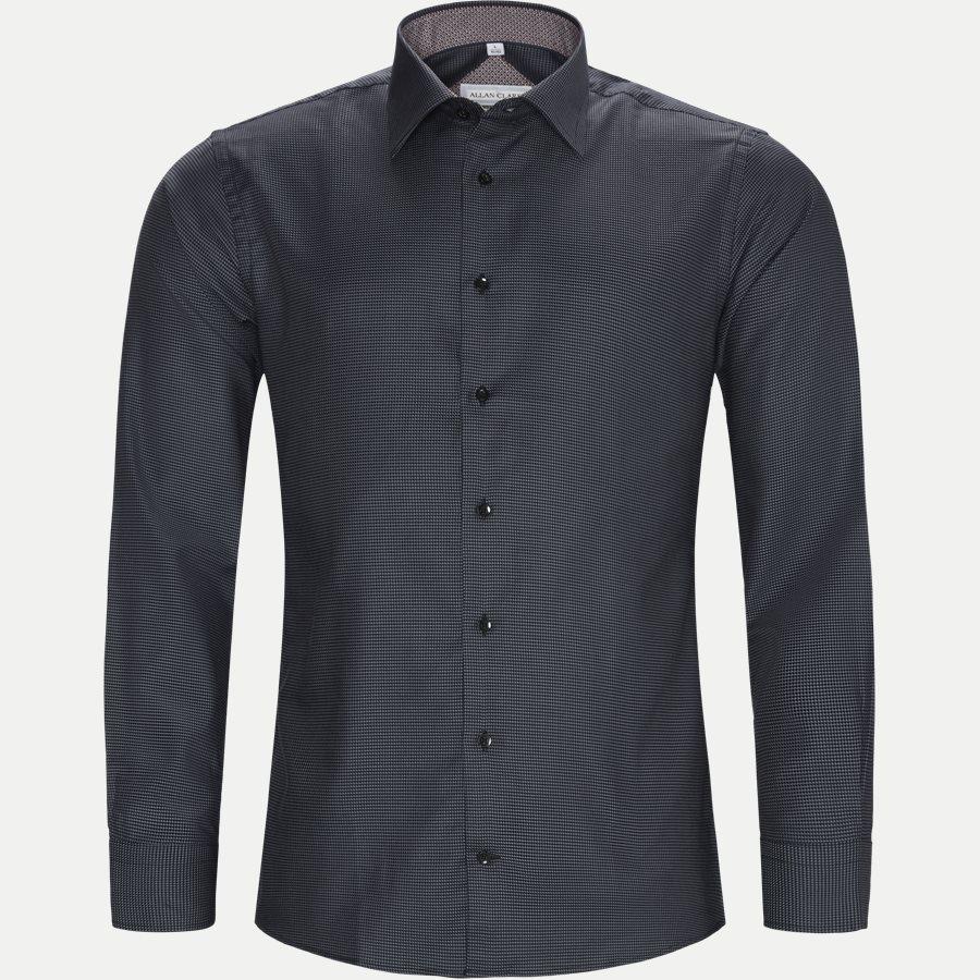 ABALO - Abalo Skjorte - Skjorter - GREY - 5