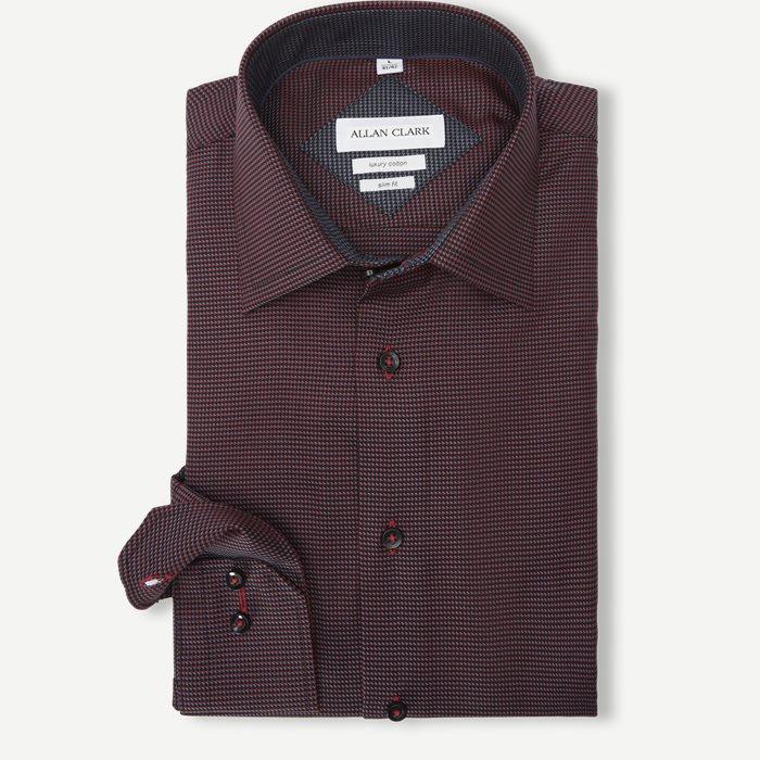 Abalo Skjorte - Skjorter - Rød