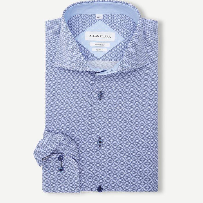 Dipanda Skjorte - Skjorter - Blå