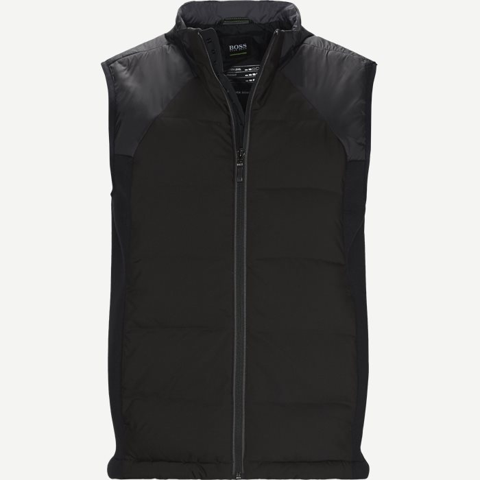 V_Spivey Dunvest - Veste - Regular - Sort