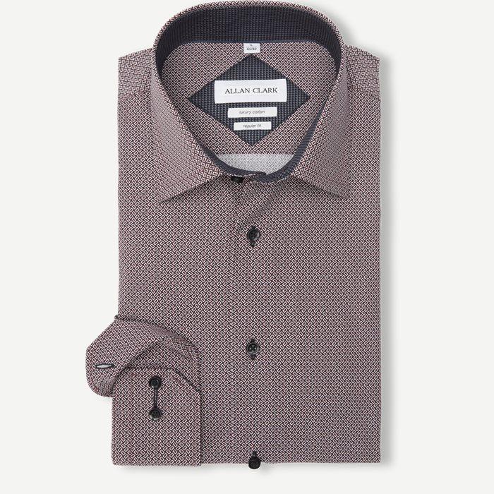 Dinard Skjorte - Skjorter - Bordeaux