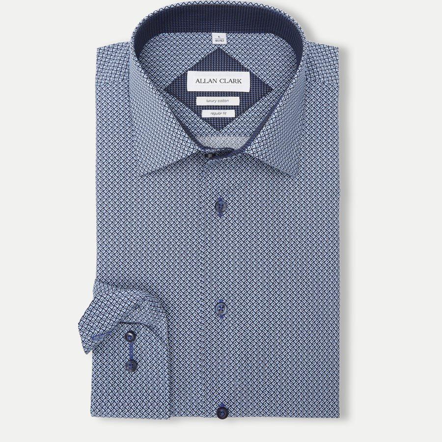 DINARD - Dinard Skjorte - Skjorter - NAVY - 1