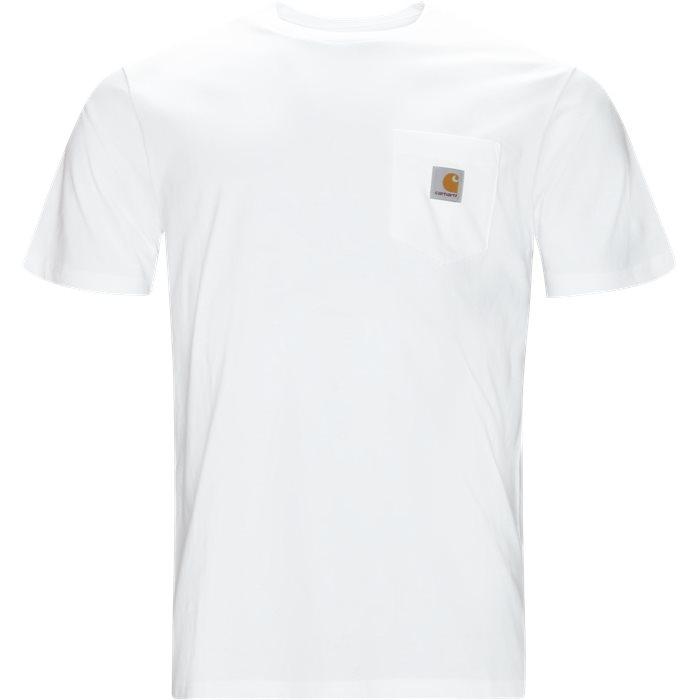 S/S Pocket Tee - T-shirts - Regular - Hvid