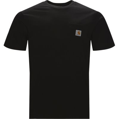 S/S Pocket Tee Regular fit | S/S Pocket Tee | Sort