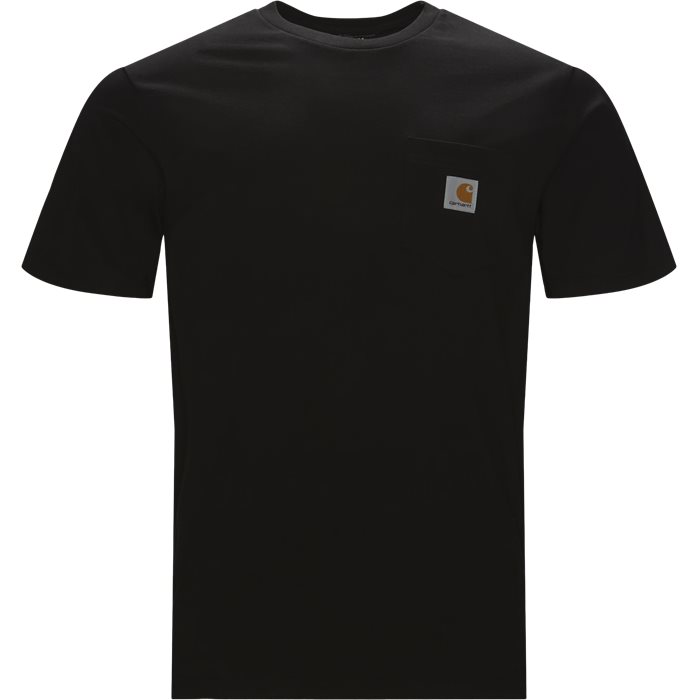 S/S Pocket Tee - T-shirts - Regular fit - Sort