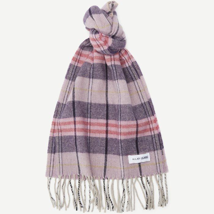 Halstørklæde - Tørklæder - Pink