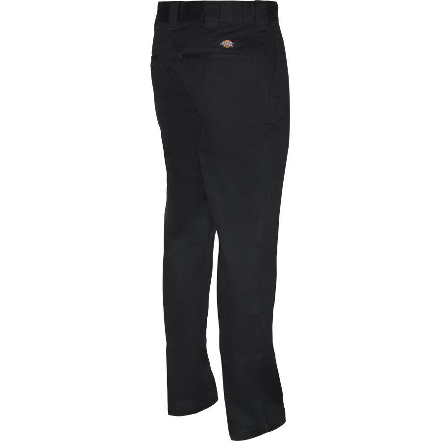 SLIM WORK PANT WE872 - Slim Work Pant - Bukser - Tapered fit - SORT - 3