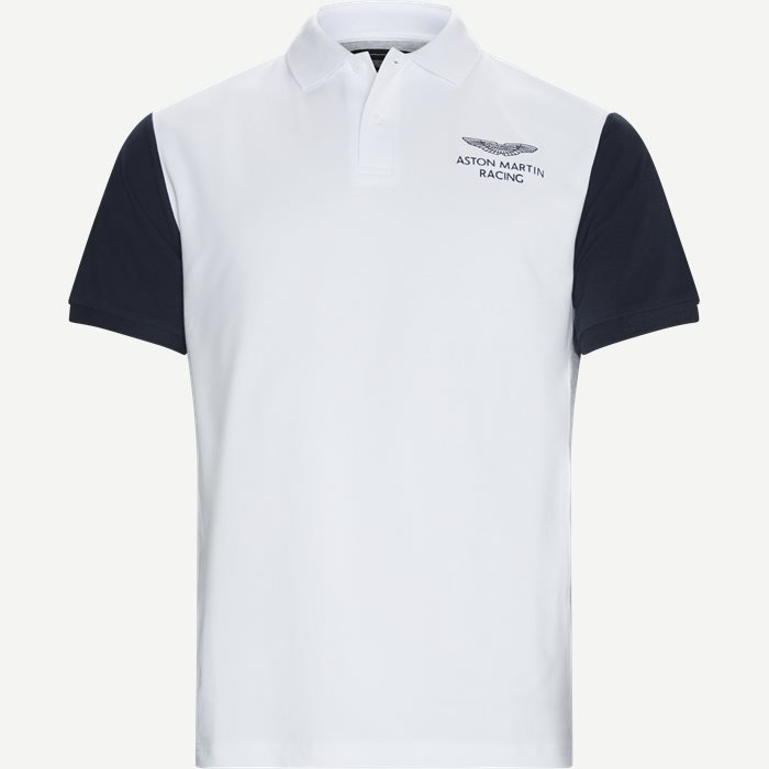 Polo T-shirt - T-shirts - Regular - Hvid
