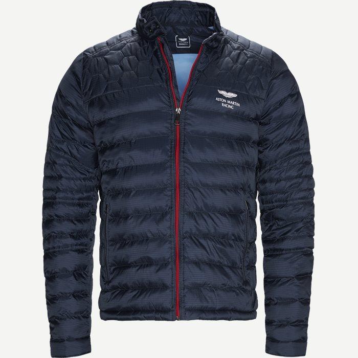 AMR Padded Moto Vindjakke - Jakker - Regular - Blå