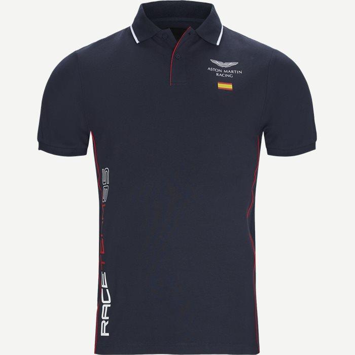 AMR Spain Polo T-shirt - T-shirts - Slim - Blå
