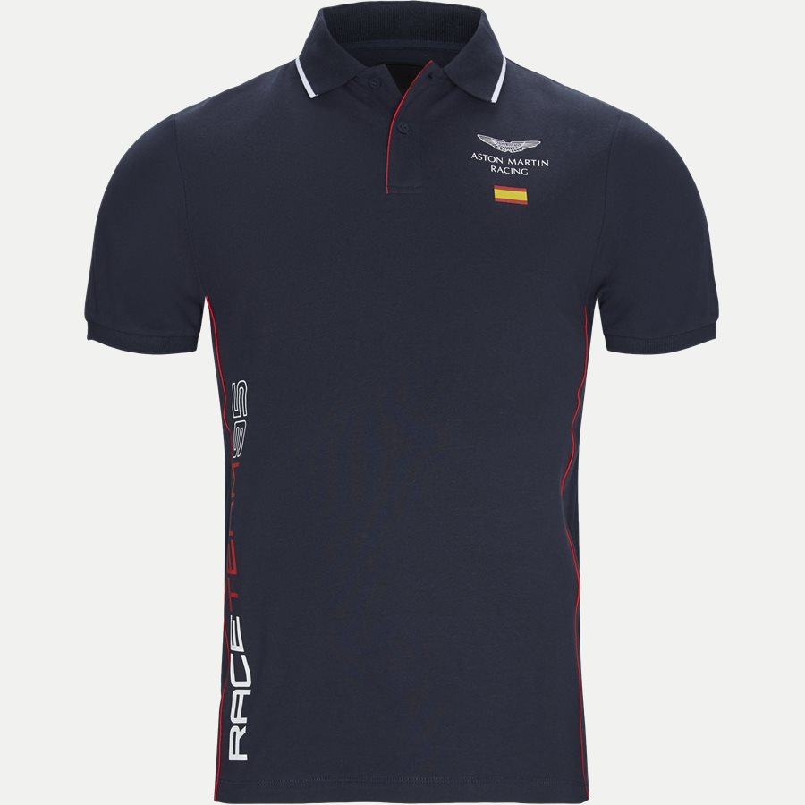 HM562354 - AMR Spain Polo T-shirt - T-shirts - Slim - NAVY - 1