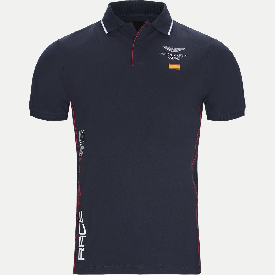 HM562354 - AMR Spain Polo T-shirt - T-shirts - Slim - NAVY - 1