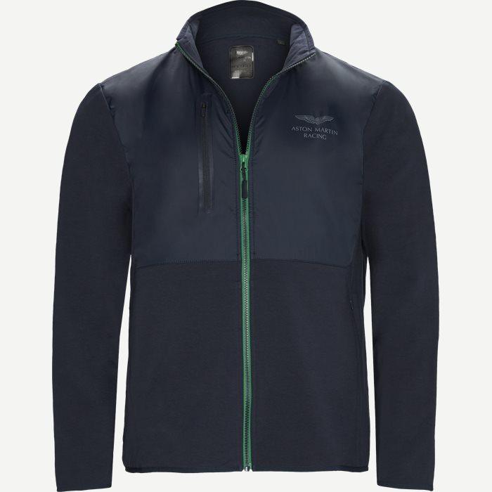 AMR Hybrid FZ Sweatshirt - Sweatshirts - Regular - Blå