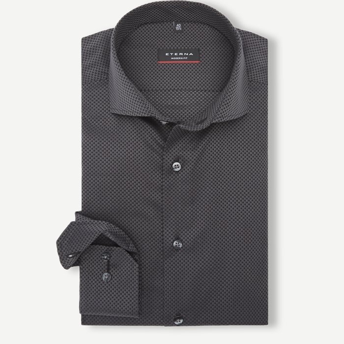 Shirts - Modern fit - Black