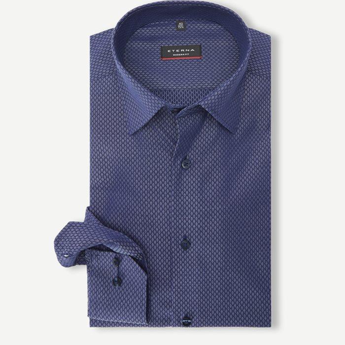 3251 Skjorte - Skjorter - Modern fit - Blå