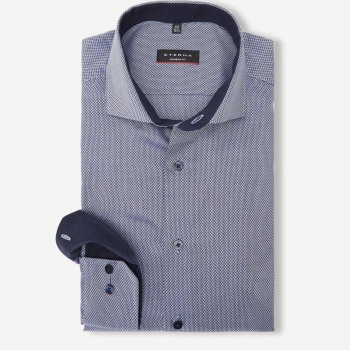 3118 Skjorte - Skjorter - Modern fit - Blå
