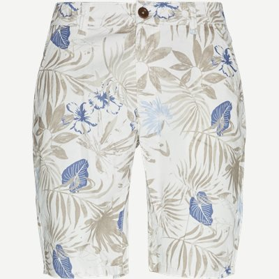 Flower Shorts Regular | Flower Shorts | Hvid