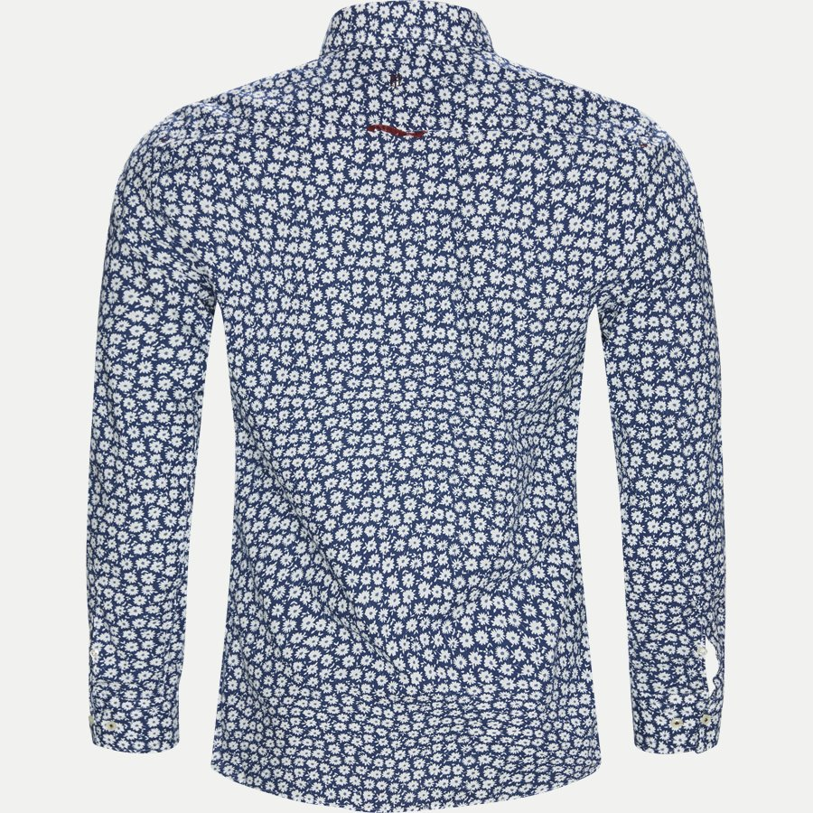 04662 SHIRT, BLUE FLOWER - Shirt Blue Flower - Skjorter - Casual fit - LYSBLÅ - 2