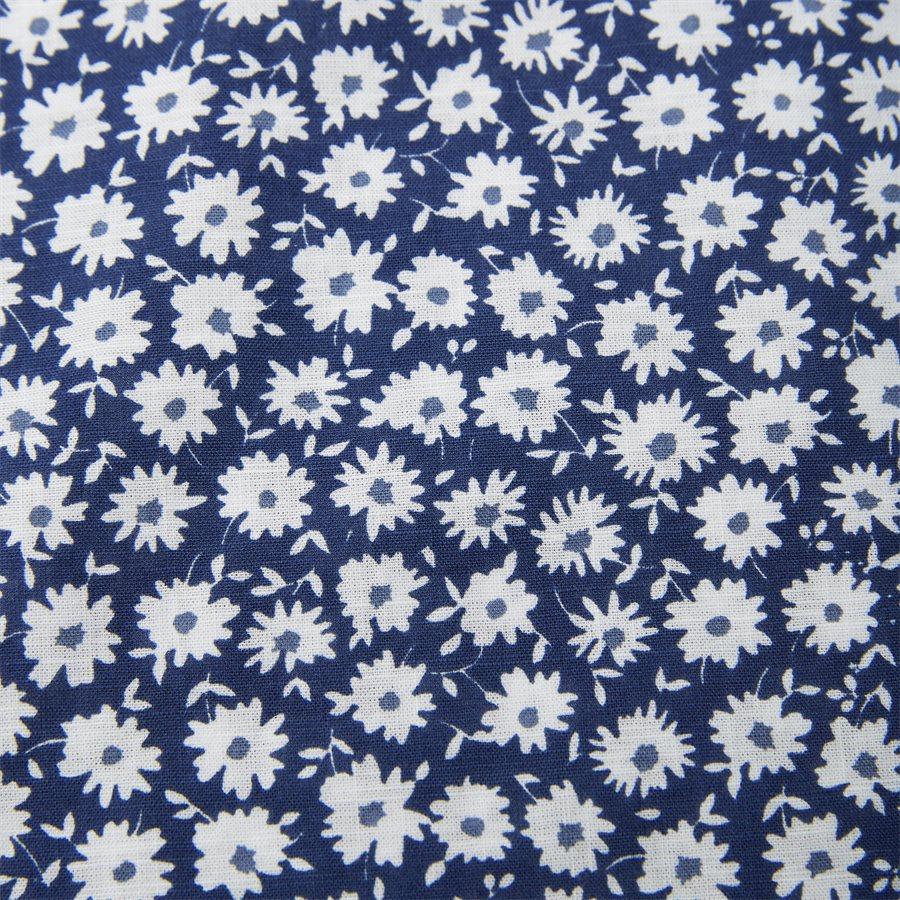 04662 SHIRT, BLUE FLOWER - Shirt Blue Flower - Skjorter - Casual fit - LYSBLÅ - 4