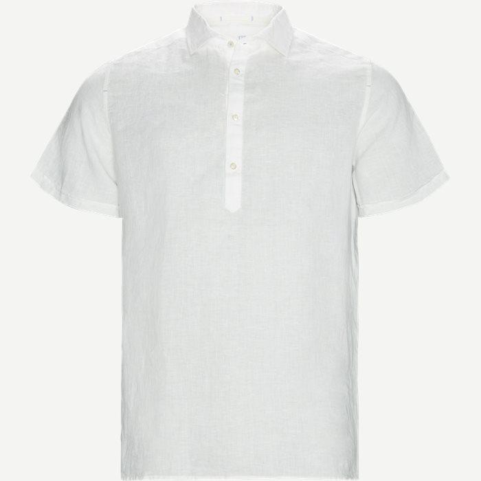 Short-sleeved shirts - Regular - White