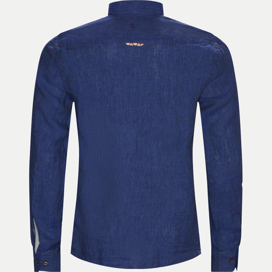 04638 SHIRT, LINEN DELAVE - Shirt Linen Delave - Skjorter - Casual fit - BLÅ - 2