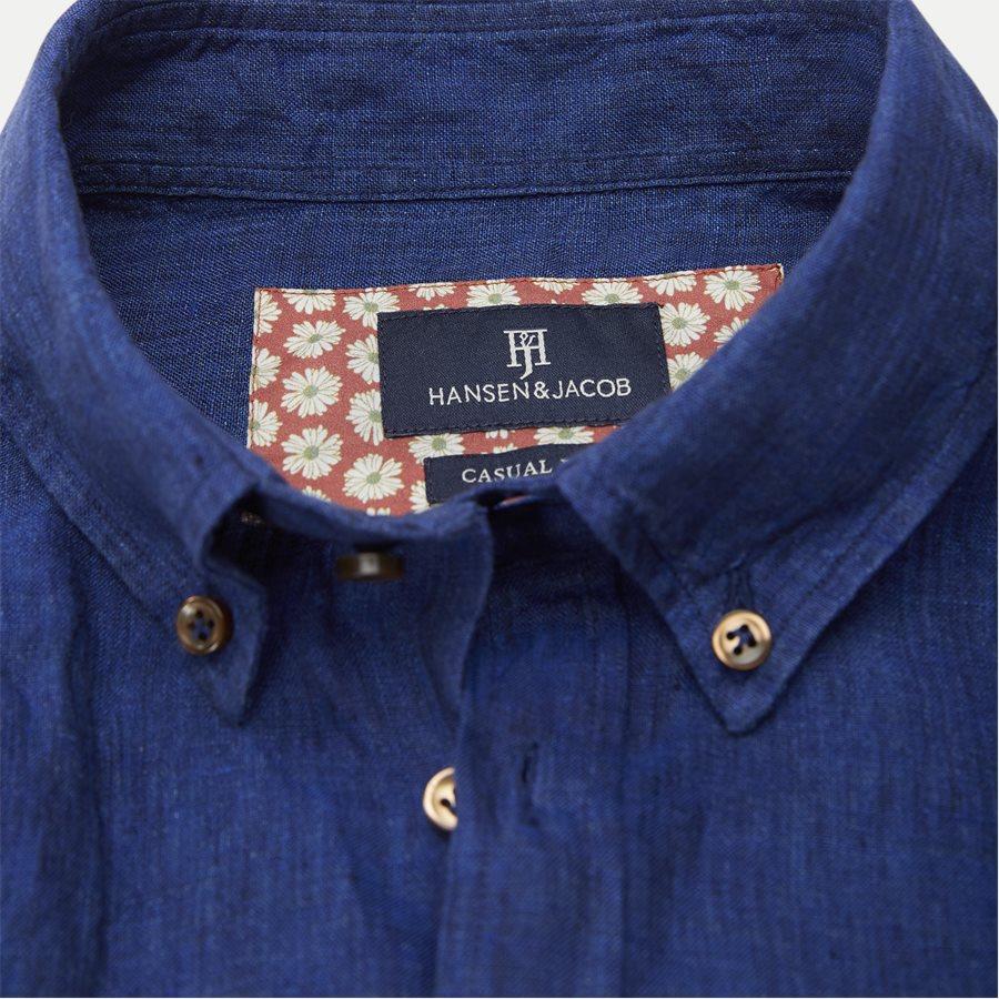 04638 SHIRT, LINEN DELAVE - Shirt Linen Delave - Skjorter - Casual fit - BLÅ - 5