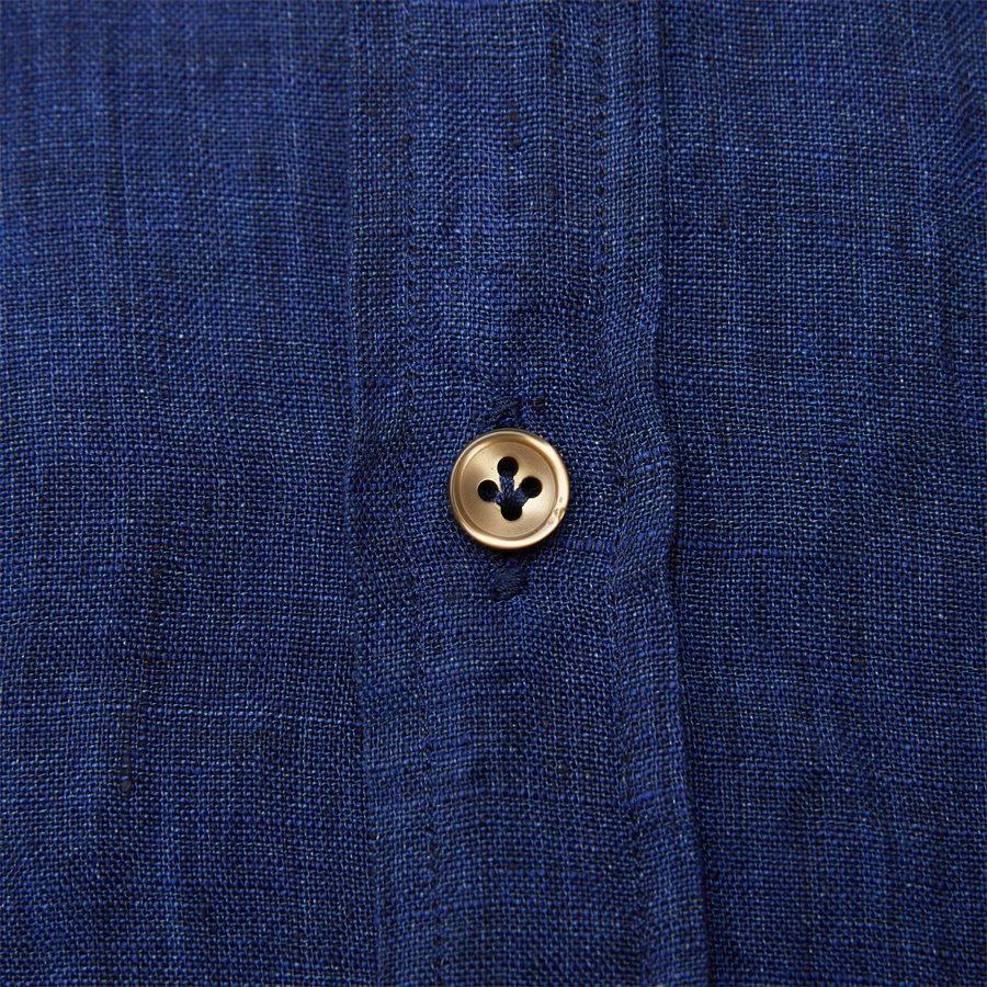04638 SHIRT, LINEN DELAVE - Shirt Linen Delave - Skjorter - Casual fit - BLÅ - 6