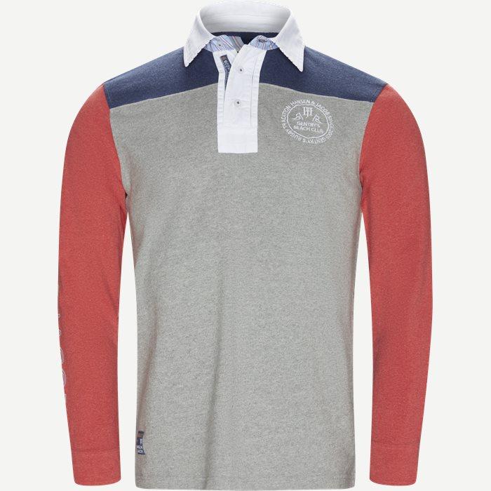T-shirts - Modern fit - Grå