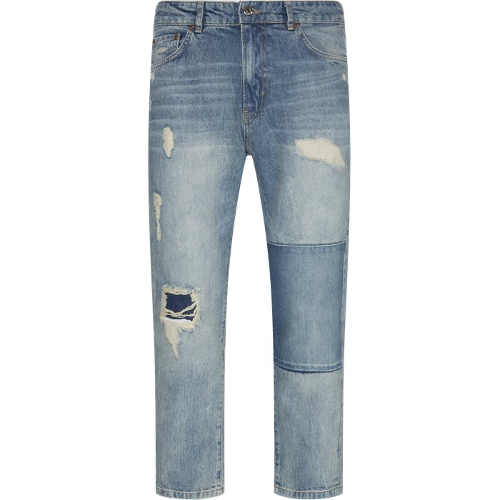 Jeans - Tapered fit - Blå