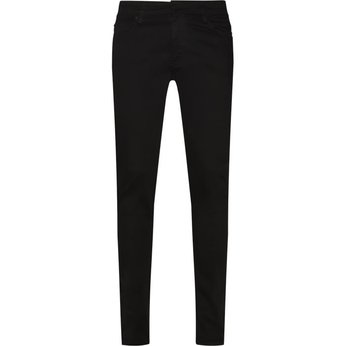 Jeans - Slim - Svart