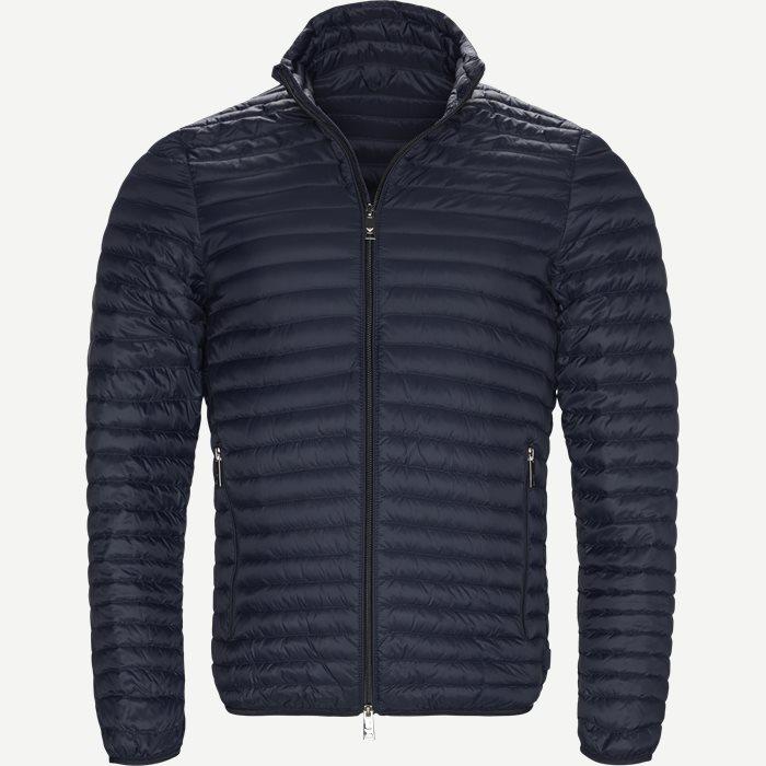 Down Jacket - Jakker - Slim - Blå