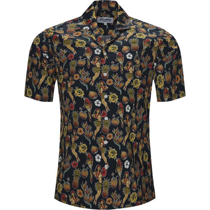 Sall JJ Skjorte - Skjorter - Regular - Blå