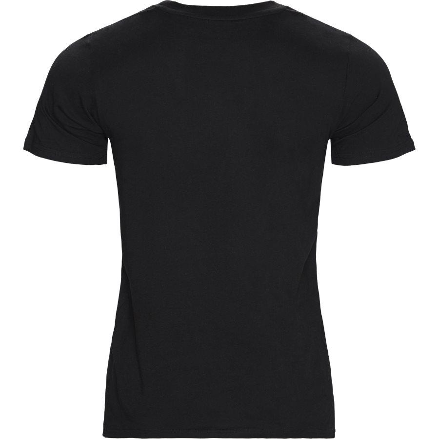 STANDARD 2 PACK I020460 - 2-Pack T-shirts - T-shirts - Regular - BLACK/BLACK - 3