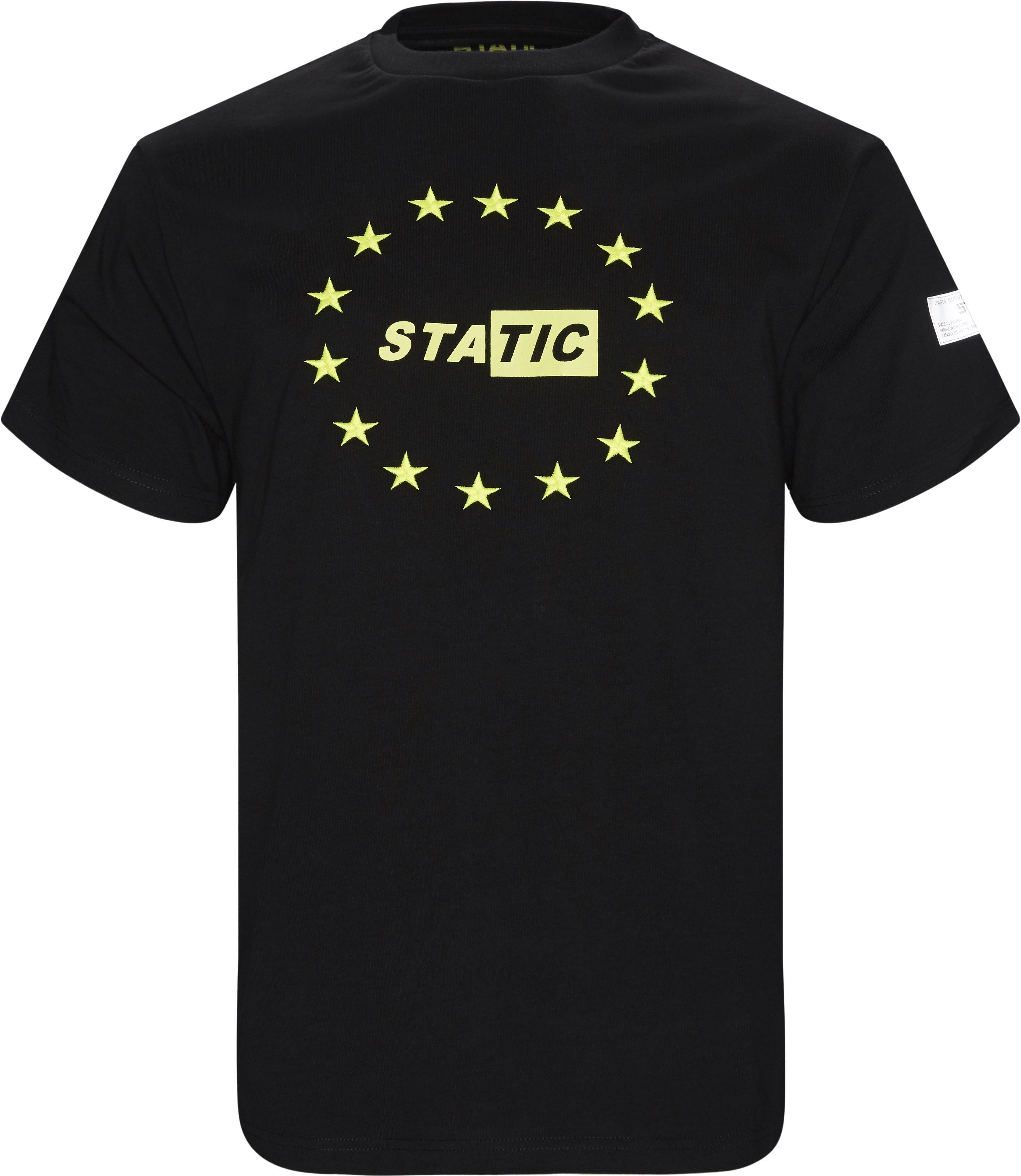 Saratov Tee - T-shirts - Regular fit - Sort