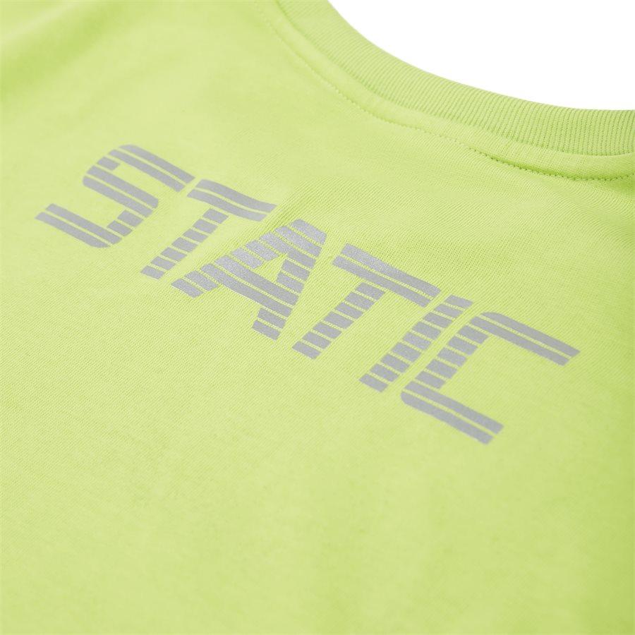 KASAN - Kasan LS Pocket Tee - T-shirts - Regular - NEON/GRØN - 4