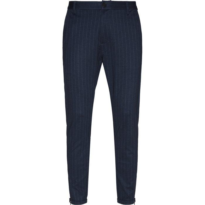 Pisa Pinstripe Bukser - Bukser - Regular - Blå