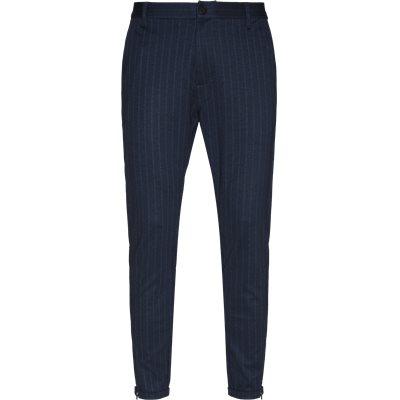 Pisa Pinstripe Bukser Regular | Pisa Pinstripe Bukser | Blå