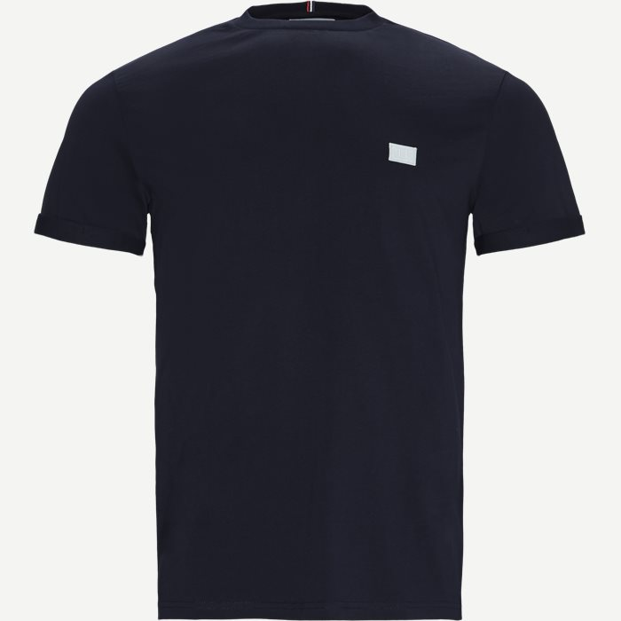 Piece T-shirt - T-shirts - Regular - Blå
