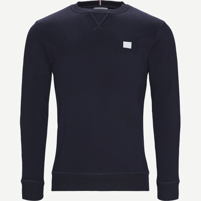 Piece sweatshirt - Sweatshirts - Regular - Blå